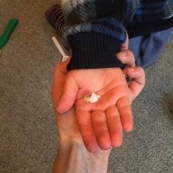 Teeny tiny ball!